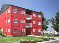Wohncontainerhaus mit 6 Wohneinheiten_www.gm-offshore.de